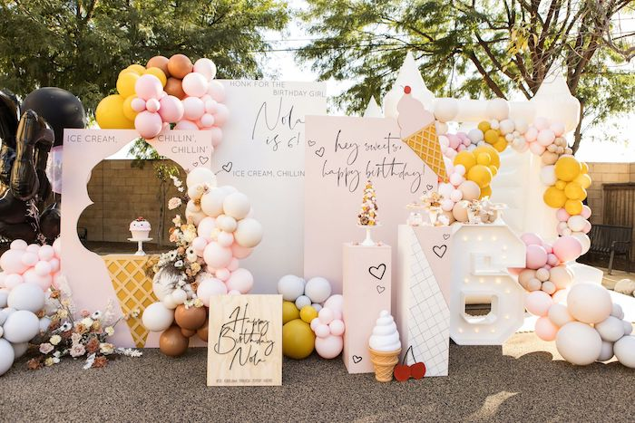 Drive-by Ice Cream Party on Kara's Party Ideas | KarasPartyIdeas.com (27)