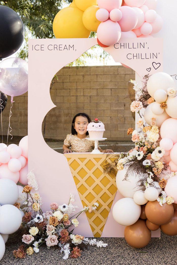 Drive-by Ice Cream Party on Kara's Party Ideas | KarasPartyIdeas.com (24)