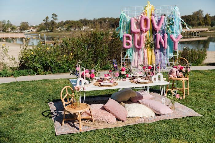 Easter Love Bunny Party on Kara's Party Ideas | KarasPartyIdeas.com (14)