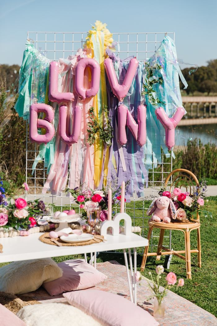 Easter Love Bunny Party on Kara's Party Ideas | KarasPartyIdeas.com (13)