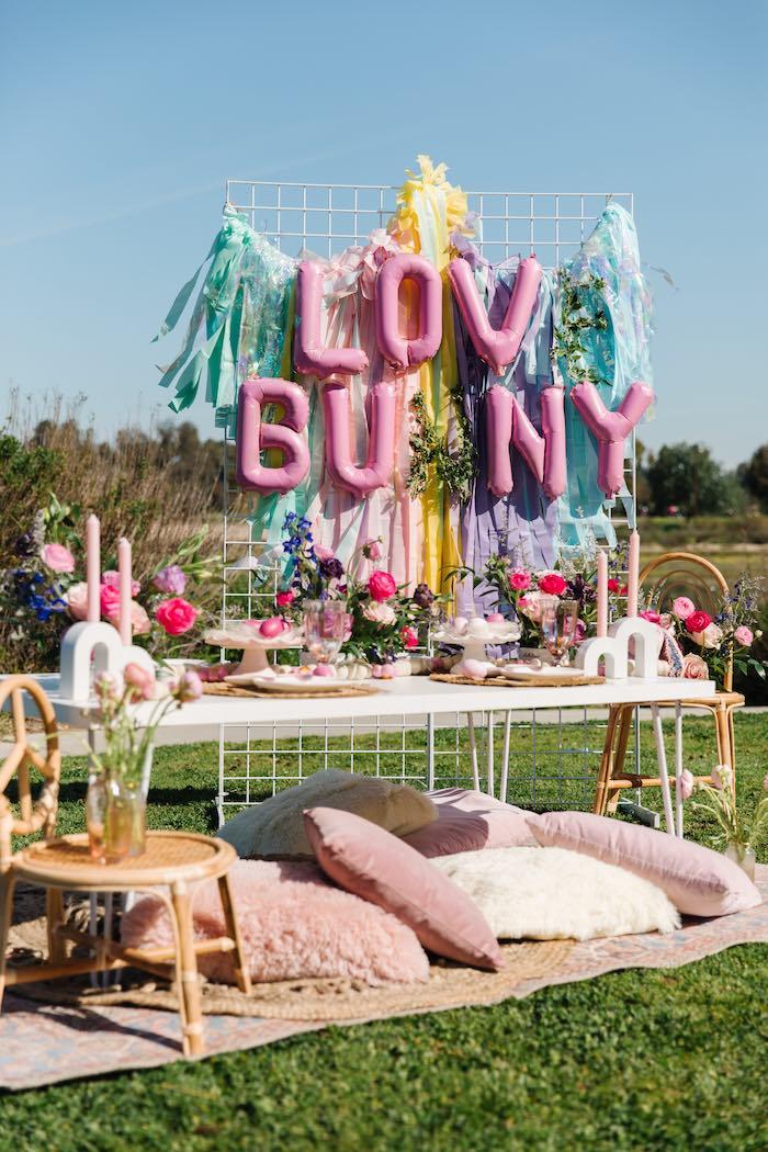 Easter Love Bunny Party on Kara's Party Ideas | KarasPartyIdeas.com (11)
