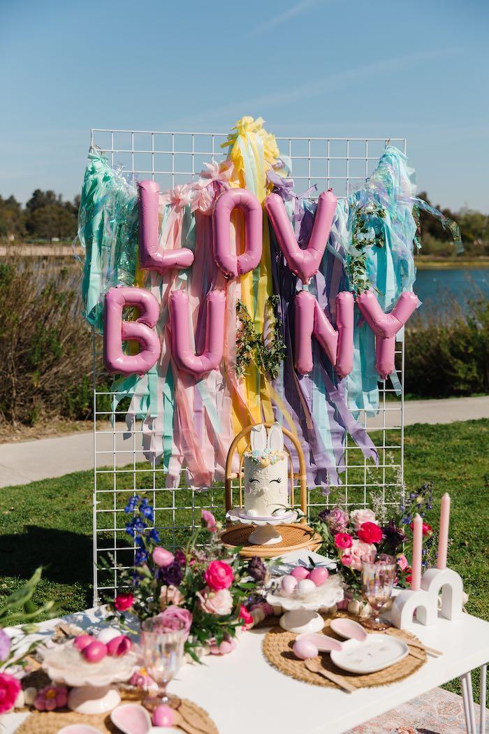 Easter Love Bunny Party on Kara's Party Ideas | KarasPartyIdeas.com (29)
