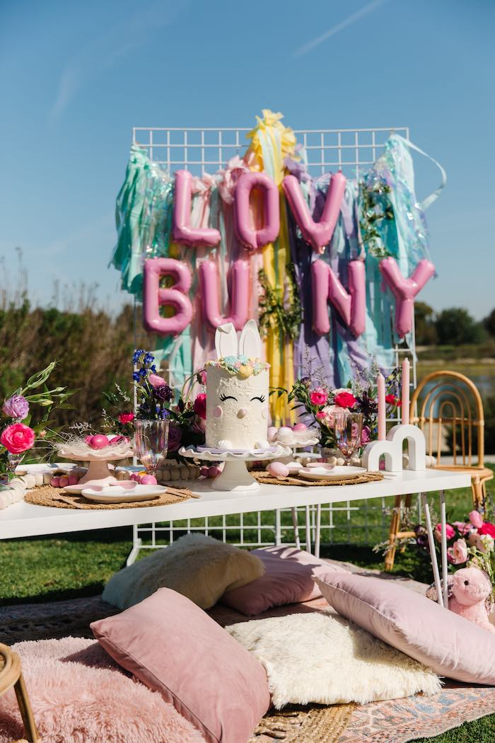 Easter Love Bunny Party on Kara's Party Ideas | KarasPartyIdeas.com (4)