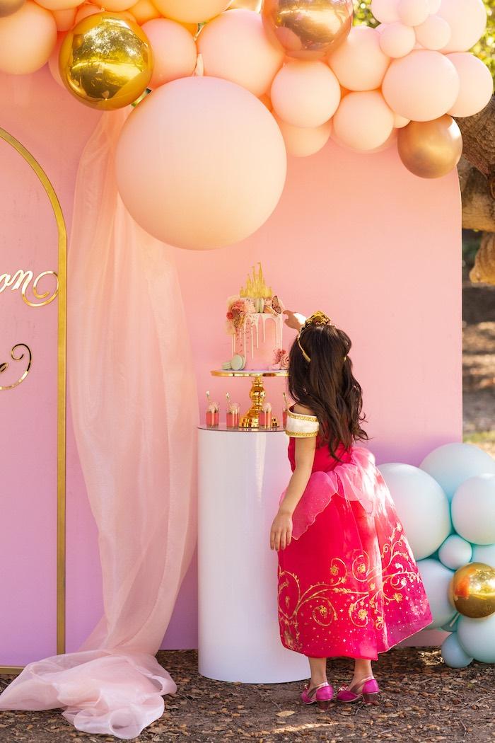 Elegant Disney Princess Party on Kara's Party Ideas | KarasPartyIdeas.com (6)