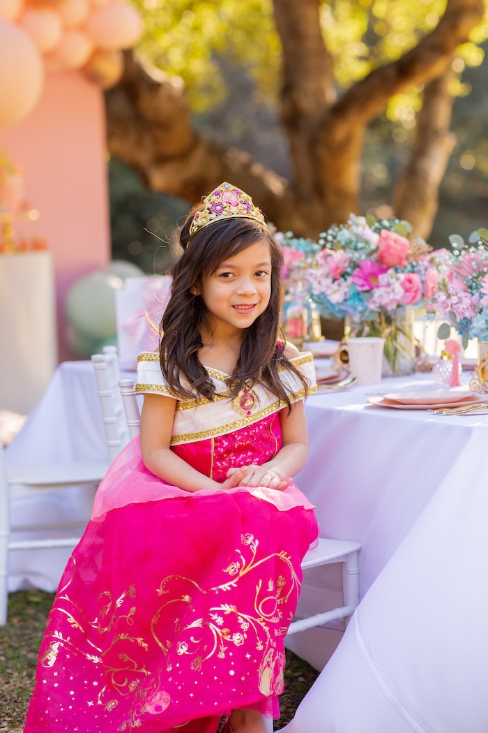 Elegant Disney Princess Party on Kara's Party Ideas | KarasPartyIdeas.com (5)