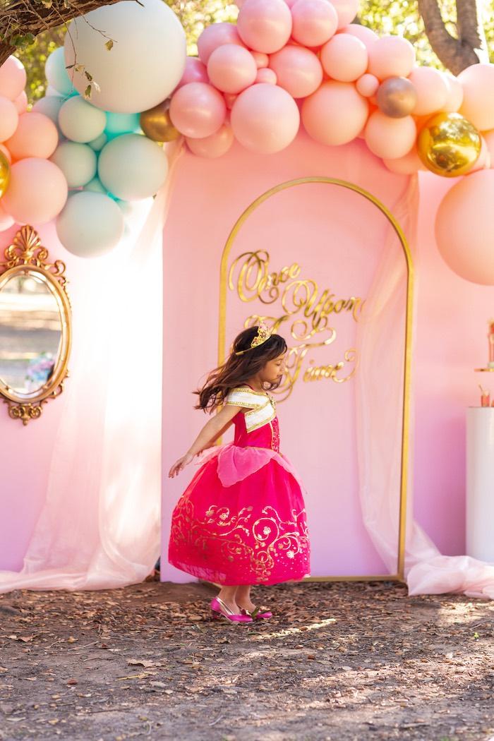 Elegant Disney Princess Party on Kara's Party Ideas | KarasPartyIdeas.com (4)