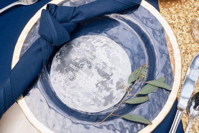 Moon Menu from a Galaxy Baby Shower on Kara's Party Ideas | KarasPartyIdeas.com (32)