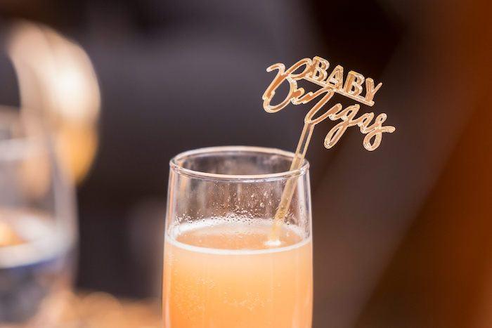 Custom Acrylic Stir Stick from a Galaxy Baby Shower on Kara's Party Ideas | KarasPartyIdeas.com (11)