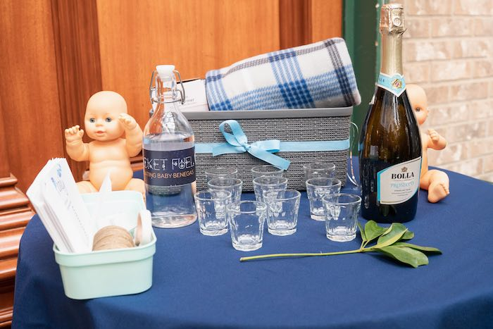 Game Table from a Galaxy Baby Shower on Kara's Party Ideas | KarasPartyIdeas.com (37)
