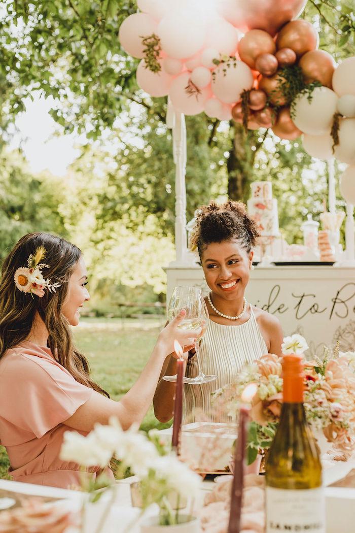 Glam Bridal Shower Picnic on Kara's Party Ideas | KarasPartyIdeas.com (16)