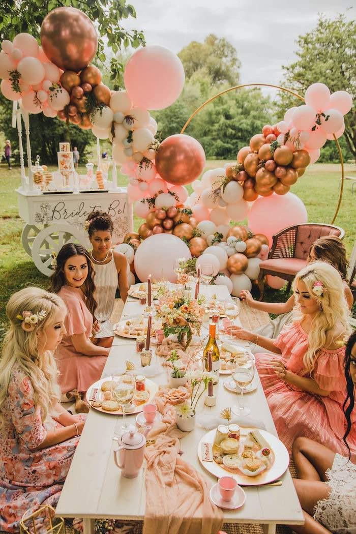 Glam Bridal Shower Picnic on Kara's Party Ideas | KarasPartyIdeas.com (12)