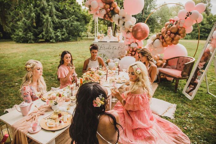 Glam Bridal Shower Picnic on Kara's Party Ideas | KarasPartyIdeas.com (11)
