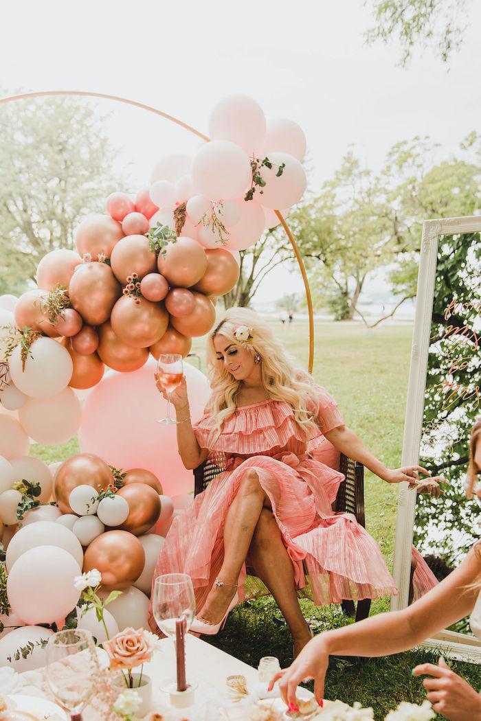 Glam Bridal Shower Picnic on Kara's Party Ideas | KarasPartyIdeas.com (10)