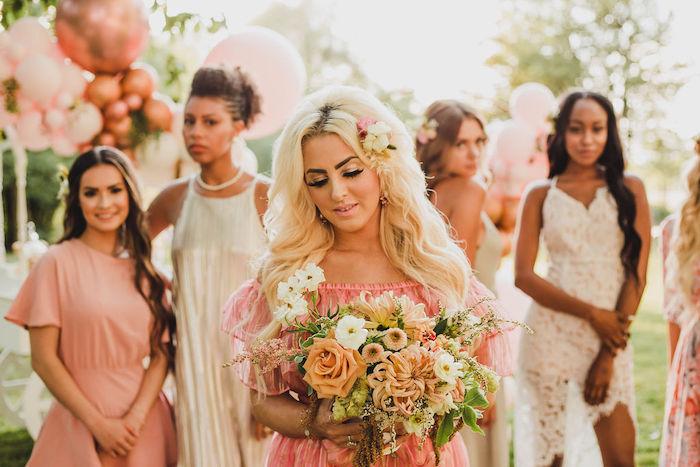 Glam Bridal Shower Picnic on Kara's Party Ideas | KarasPartyIdeas.com (8)