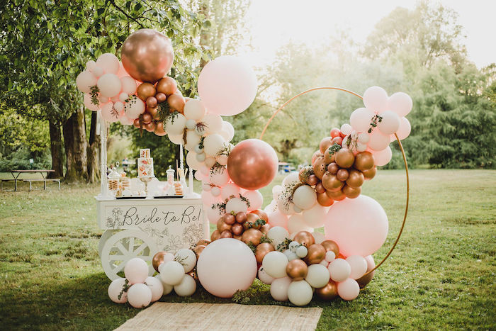 Glam Bridal Shower Picnic on Kara's Party Ideas | KarasPartyIdeas.com (4)