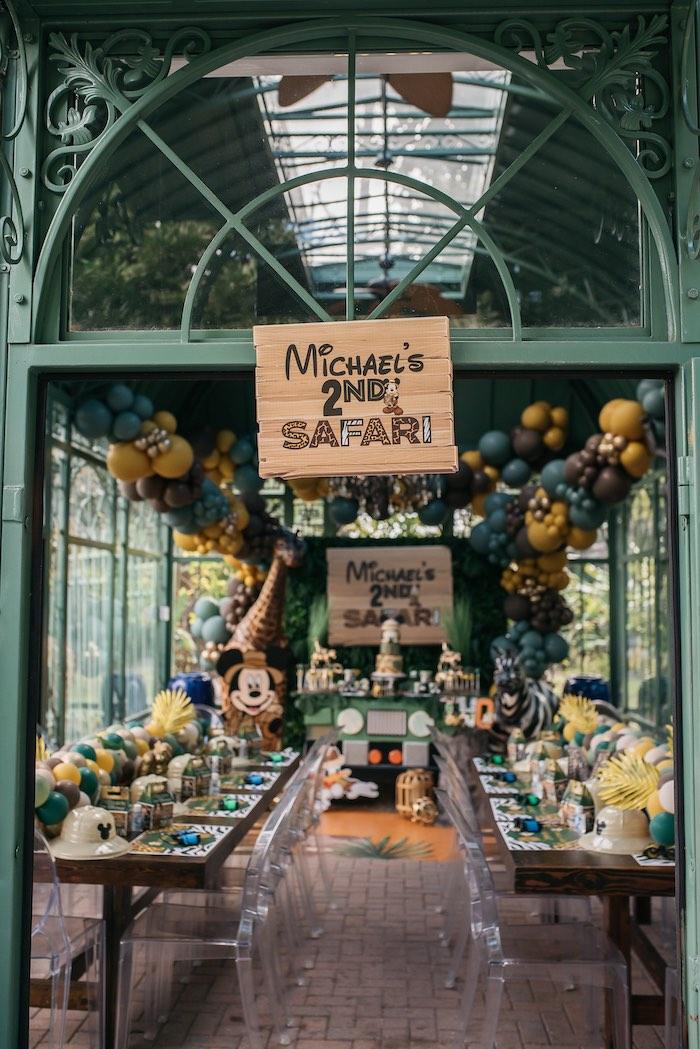 Mickey Mouse Safari Party on Kara's Party Ideas | KarasPartyIdeas.com (5)