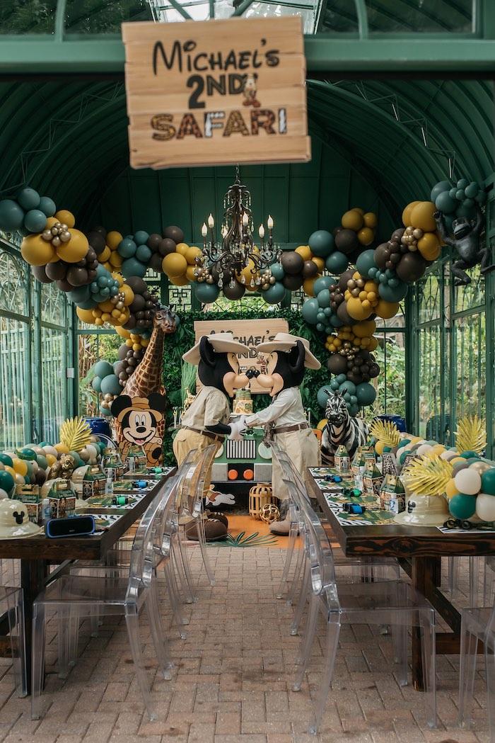 Mickey Mouse Safari Party on Kara's Party Ideas | KarasPartyIdeas.com (4)