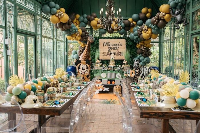 Mickey Mouse Safari Party on Kara's Party Ideas | KarasPartyIdeas.com (20)