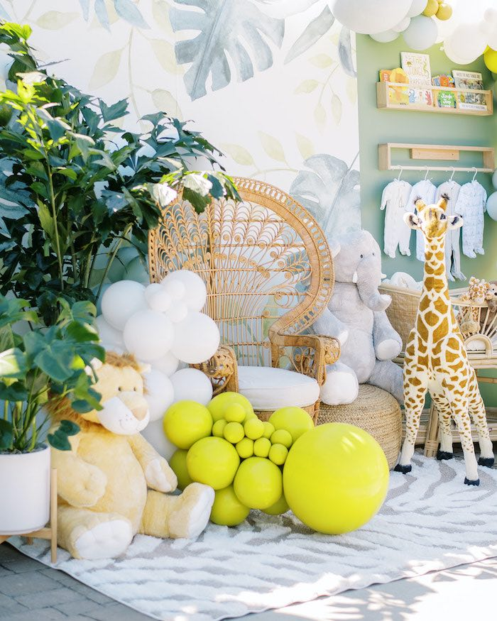 Modern Safari Drive-By Baby Shower on Kara's Party Ideas | KarasPartyIdeas.com (17)