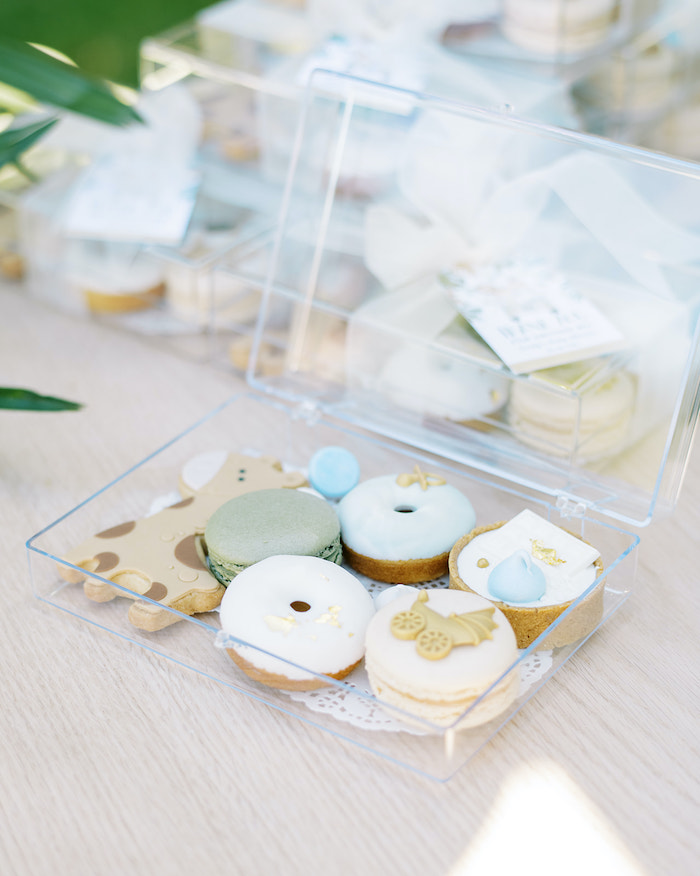 Safari-inspired Sweets from a Modern Safari Drive-By Baby Shower on Kara's Party Ideas | KarasPartyIdeas.com (7)
