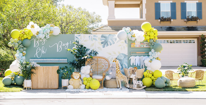 Modern Safari Drive-By Baby Shower on Kara's Party Ideas | KarasPartyIdeas.com (22)