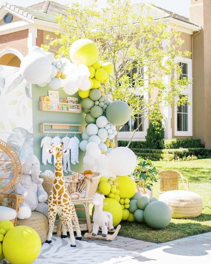 Modern Safari Drive-By Baby Shower on Kara's Party Ideas | KarasPartyIdeas.com (18)