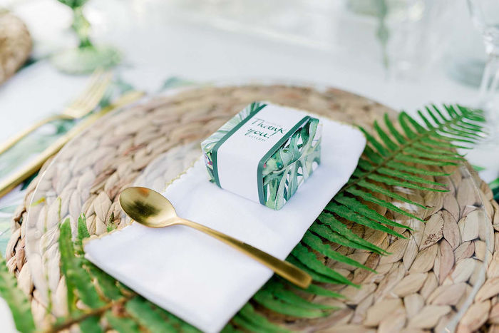Tropical Party Favor from a Modern Tropical Baptism Party on Kara's Party Ideas   KarasPartyIdeas.com (21)