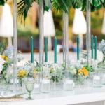 Modern Tropical Baptism Party on Kara's Party Ideas | KarasPartyIdeas.com (1)