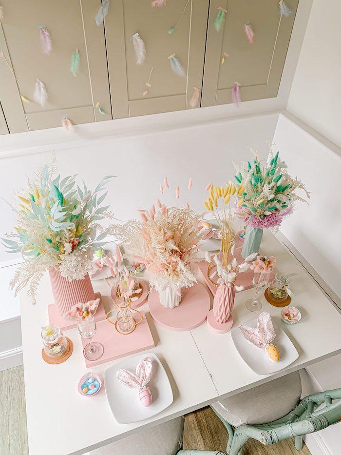 Pastel Easter Tablescape on Kara's Party Ideas | KarasPartyIdeas.com (8)