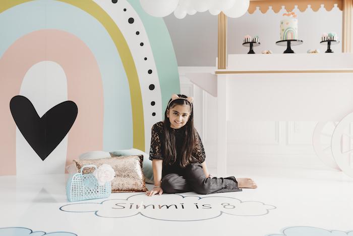 Sleek + Minimal Pastel Rainbow Party on Kara's Party Ideas | KarasPartyIdeas.com (10)