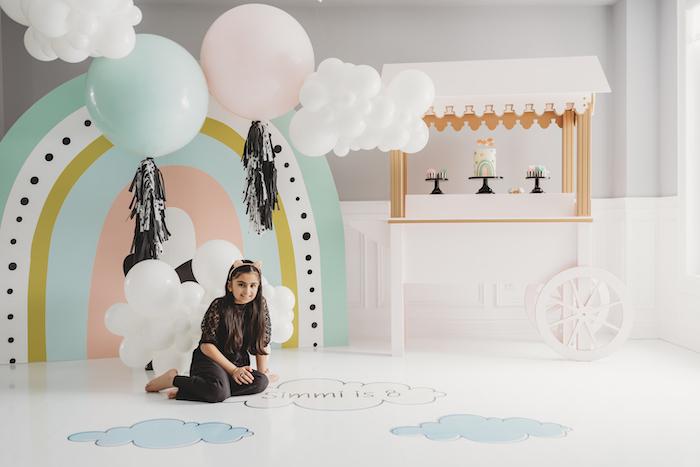 Sleek + Minimal Pastel Rainbow Party on Kara's Party Ideas | KarasPartyIdeas.com (6)