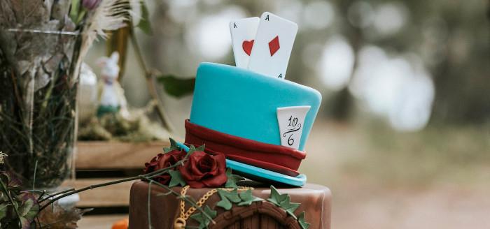 Woodland Alice in Wonderland Tea Party on Kara's Party Ideas | KarasPartyIdeas.com (3)