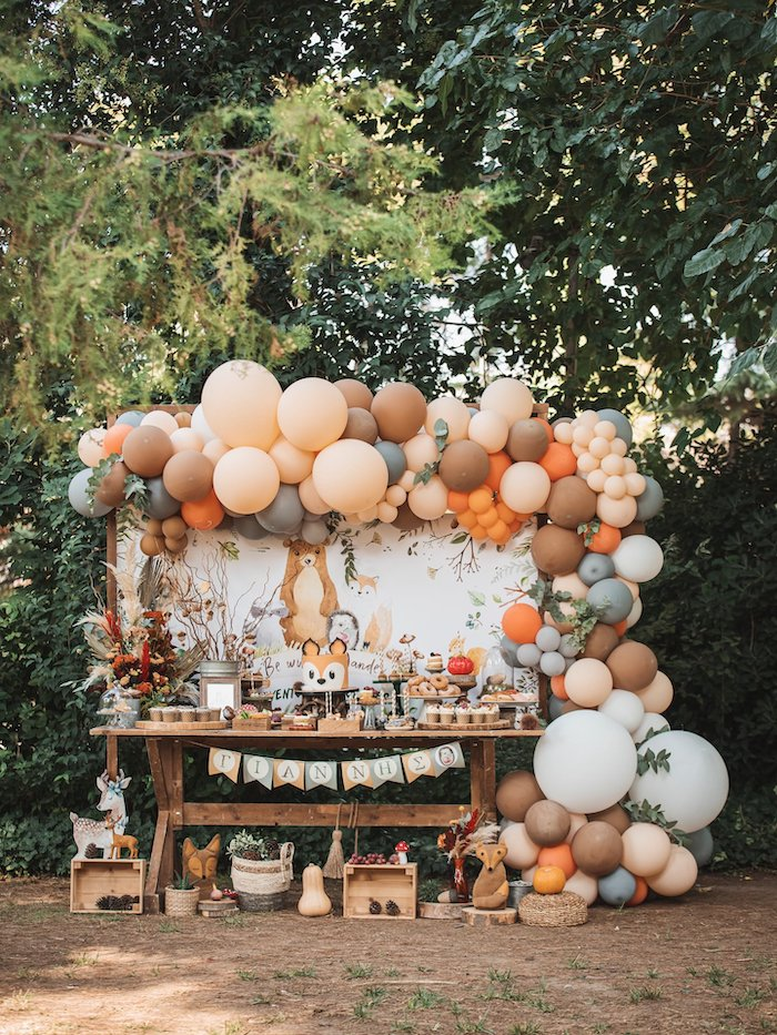 Woodland Forest Christening Party on Kara's Party Ideas | KarasPartyIdeas.com (32)