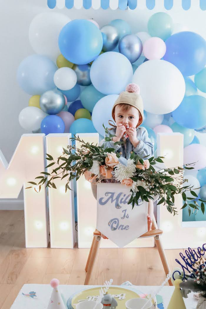 Pastel Dumbo + Circus Birthday Party on Kara's Party Ideas | KarasPartyIdeas.com (23)