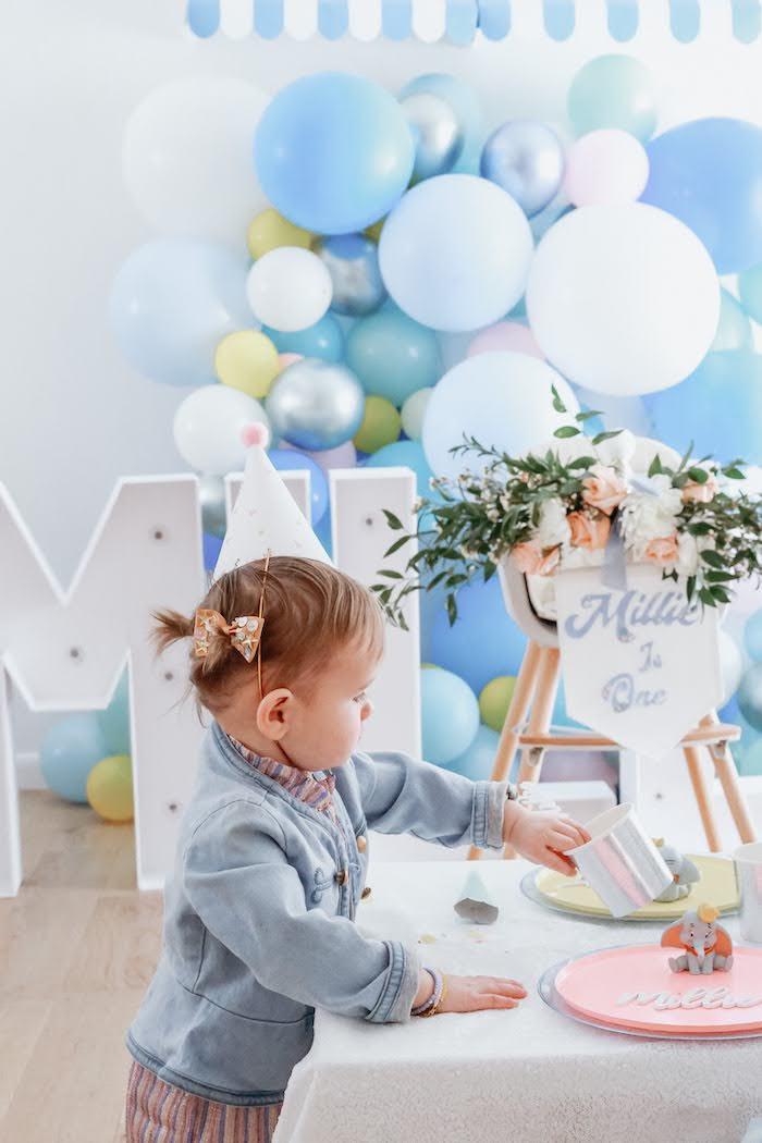 Pastel Dumbo + Circus Birthday Party on Kara's Party Ideas | KarasPartyIdeas.com (29)