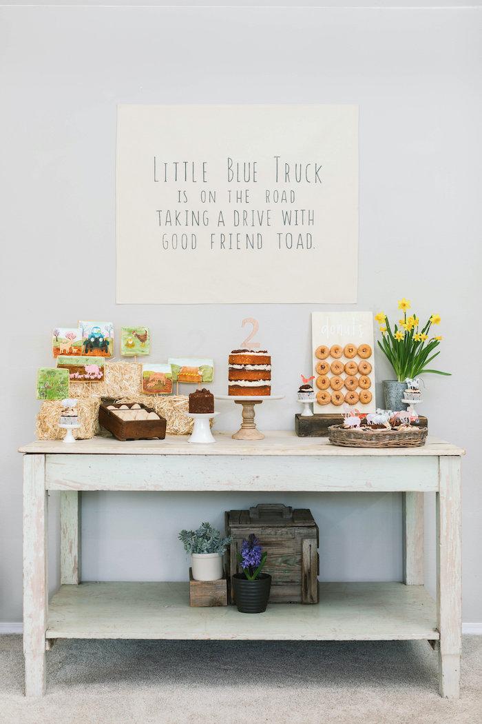 """Little Blue Truck"" Inspired Birthday Party on Kara's Party Ideas | KarasPartyIdeas.com (53)"
