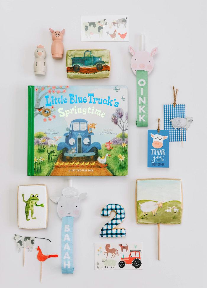 """Little Blue Truck"" Inspired Birthday Party on Kara's Party Ideas | KarasPartyIdeas.com (33)"