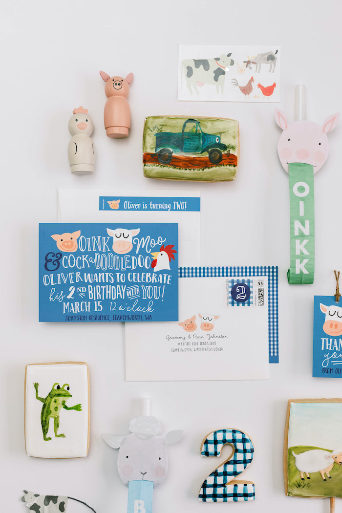 """Little Blue Truck"" Inspired Birthday Party on Kara's Party Ideas | KarasPartyIdeas.com (29)"