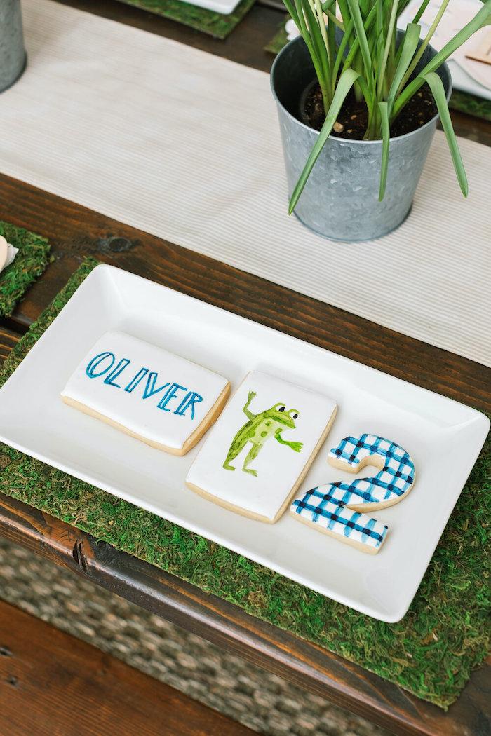 """Little Blue Truck"" Inspired Cookies from a ""Little Blue Truck"" Inspired Birthday Party on Kara's Party Ideas | KarasPartyIdeas.com (28)"