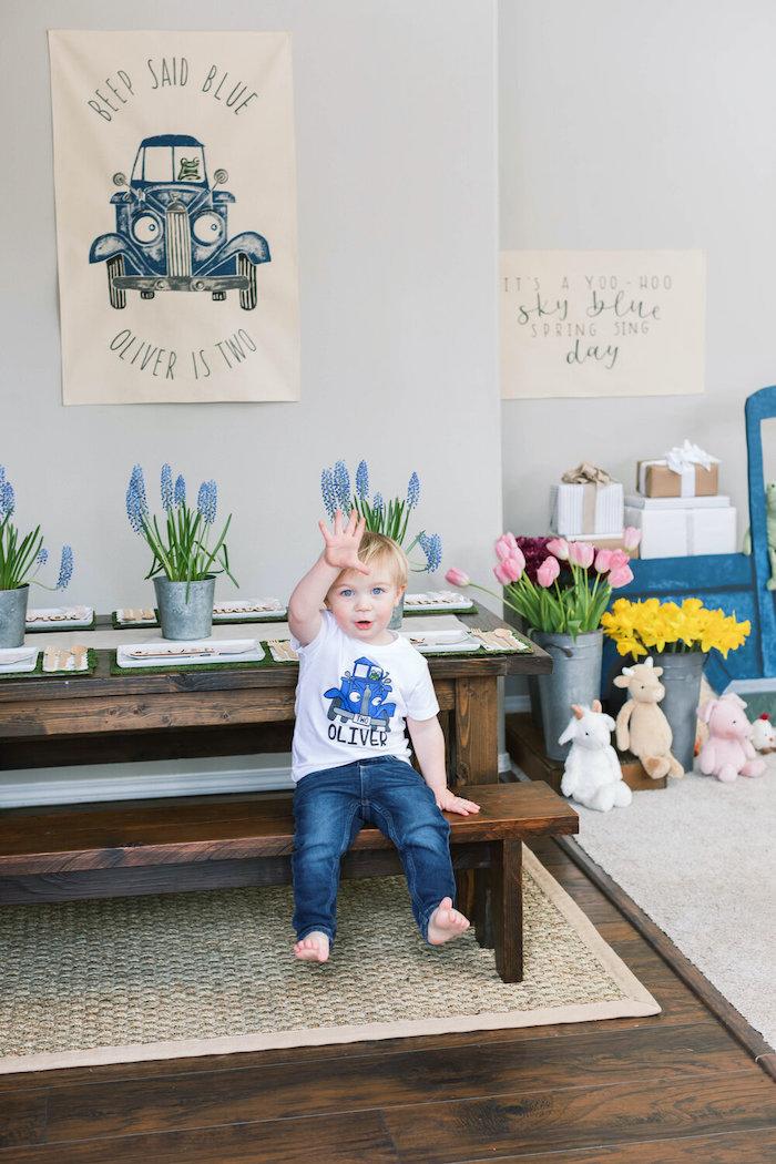 """Little Blue Truck"" Inspired Birthday Party on Kara's Party Ideas | KarasPartyIdeas.com (27)"