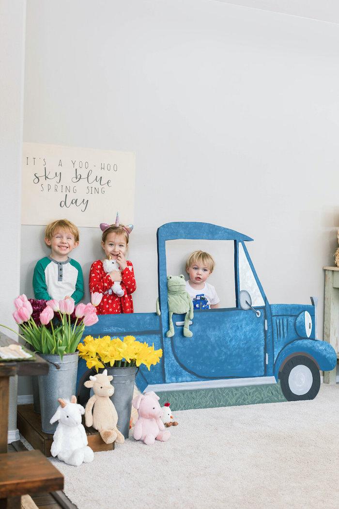 """Little Blue Truck"" Inspired Birthday Party on Kara's Party Ideas | KarasPartyIdeas.com (26)"