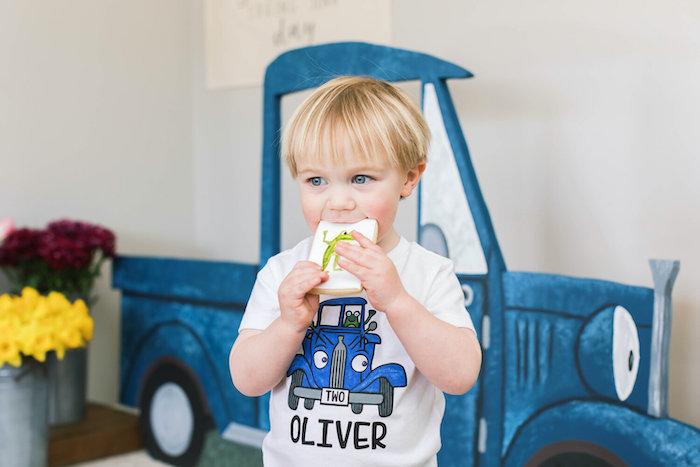 """Little Blue Truck"" Inspired Birthday Party on Kara's Party Ideas | KarasPartyIdeas.com (13)"