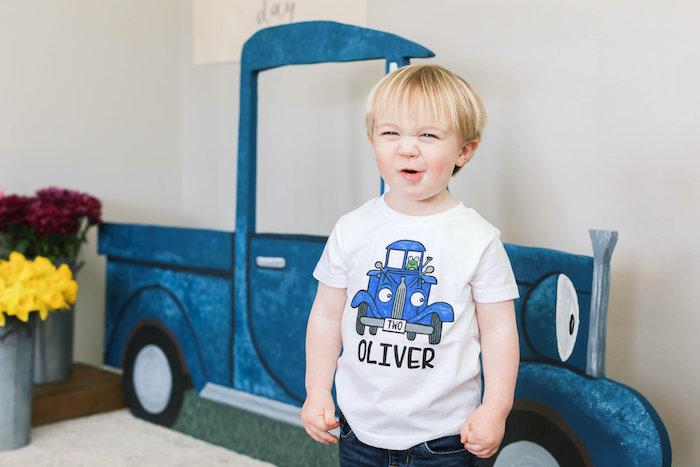 """Little Blue Truck"" Inspired Birthday Party on Kara's Party Ideas | KarasPartyIdeas.com (12)"