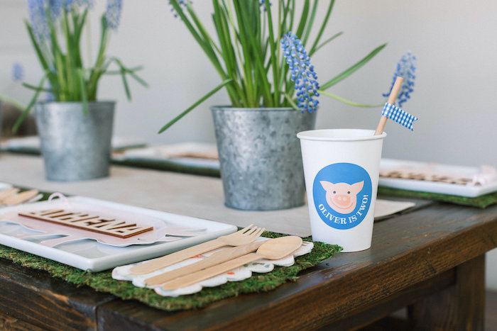 "Farm Animal Cup from a ""Little Blue Truck"" Inspired Birthday Party on Kara's Party Ideas | KarasPartyIdeas.com (9)"