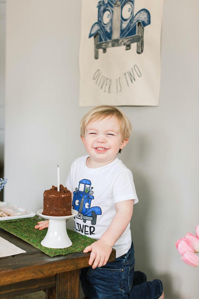"""Little Blue Truck"" Inspired Birthday Party on Kara's Party Ideas | KarasPartyIdeas.com (7)"