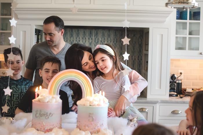 """You are Magical"" Rainbows + Unicorns Birthday Party on Kara's Party Ideas | KarasPartyIdeas.com (5)"