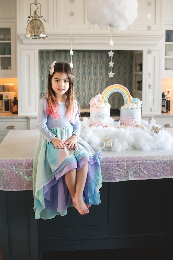"""You are Magical"" Rainbows + Unicorns Birthday Party on Kara's Party Ideas | KarasPartyIdeas.com (22)"
