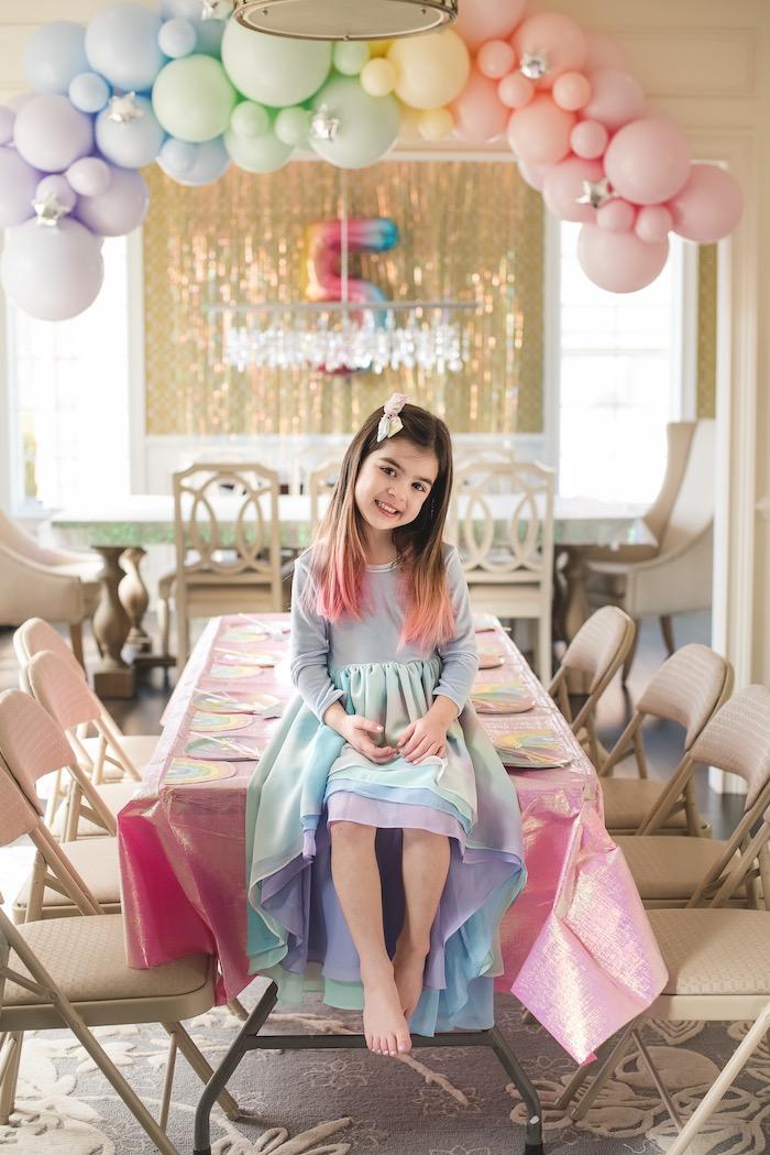 """You are Magical"" Rainbows + Unicorns Birthday Party on Kara's Party Ideas | KarasPartyIdeas.com (18)"