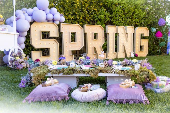 Blooming Spring Garden Party on Kara's Party Ideas | KarasPartyIdeas.com (2)