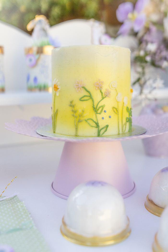Spring Garden Cake from a Blooming Spring Garden Party on Kara's Party Ideas | KarasPartyIdeas.com (20)